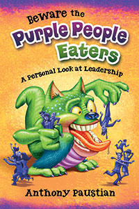 Book Cover - Purple People Eaters